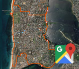 Thumbnail of google map